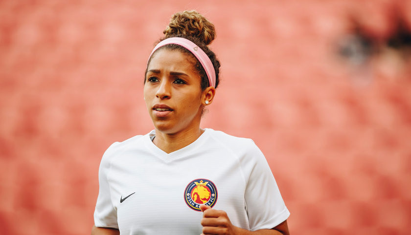 Desiree Scott – A Canadian Soccer Player Representing Utah Royals FC Who also Took Part in The 2015 FA Women's Cup