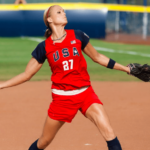 Jennie Finch - An American Retired Softball Player and A Medal-Winning Olympian Who Began Playing Softball at The age of 5 and Pitching at The Age of 8