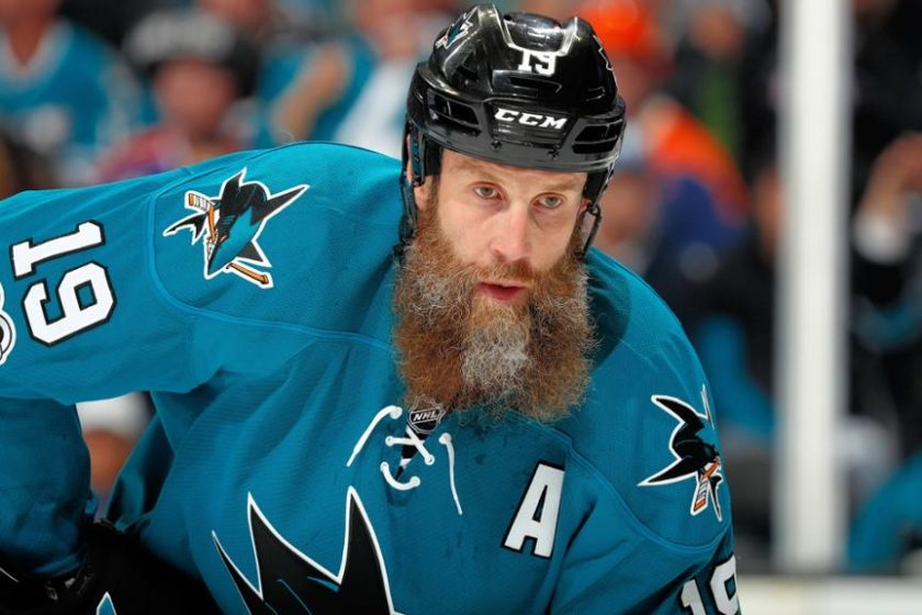 Joe Thornton – A Canadian-American Professional Ice Hockey Player, Representing San Jose Sharks in The NHL, Who Kicked Off His Career by The 1995 OHL Draft