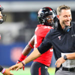 Kliff Kingsbury - The Head Coach of The American Football Franchise Arizona Cardinals played for the Texas Tech Red Raiders Who Once Played Under Coaches Spike Dykes and Mike Leach on Years 1998-1999 and 2000-2002