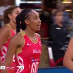 Layla Guscoth - A Professional English Netballer, Representing Adelaide Thunderbirds in The Australian Super Netball League, Who Represented The England National Netball Team since 2015