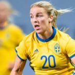 Mimmi Larsson - A Swedish Football Player Representing Linkopings FC Who Kicked Off Her Career by Joining Mallbackens IF in 2012