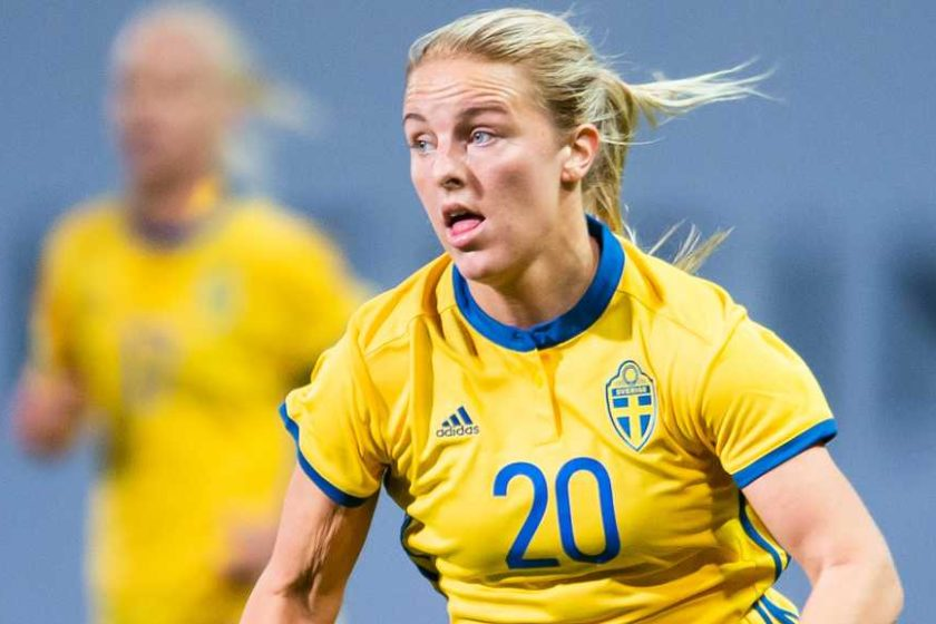 Mimmi Larsson – A Swedish Football Player Representing Linkopings FC Who Kicked Off Her Career by Joining Mallbackens IF in 2012