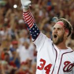 Bryce Harper - A Professional American Baseball Player Representing Philadelphia Phillies in The MLB