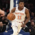 Frank Ntilikina - A Professional Basketball Player, Representing New York Knicks in The NBA, Who Kicked Off His Career from The 2017 NBA Draft