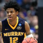 Ja Morant - An American Professional Basketball Player Representing Memphis Grizzlies in The NBA