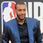 Rudy Gobert - A French Competitive Basketball Player Representing Utah Jazz in The NBA, Became The NBA Blocks Leader in 2017