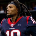 DeAndre Hopkins - A Professional Football Player Representing Arizona Cardinals in The NFL, also Known as Nuk Hopkins, Who Entered into The NFL by 2013 NFL Draft