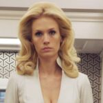 January Jones–An American actress and model well known for her portrayal of Betty Draper in the American TV show 'Mad Men.'